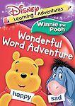 Disney Learning Adventures: Winnie The Pooh Wonderful Word Adventure (DVD, 2006)