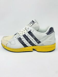 Adidas ZX 8000 Superstar A-ZX Mens Casual Shoes Off White/Core Black NEW Size 10