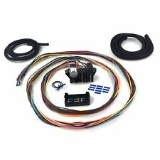 Ultimate 12 Fuse 12v Conversion Wire Harness 40 1940 Ford Pickup muscle rat