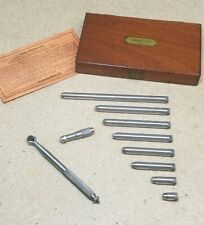 """Lufkin No. 680 - inside micrometer 1 1/2"""" to 12"""" with protective case - Starrett"""
