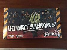 Zombicide Ultimate Survivors #2 KS exclusive brand NEW! in hand CMON