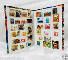 Premier Stamp Album 300+ with 150 Different Old Used/CTO World Stamps Collection