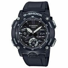 Casio G-Shock Carbon Core Guard Structure Rubber Strap Men's Watch GA2000S-1A