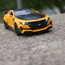 Chevrolet Camaro Bumblebee 1:32 Model Cars Sound&Light Alloy Diecast Toys New