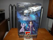 "BABYLON 5, AMBASSADOR DELENN WITH MINBARI FLYER, 5.5"" FIGURE, NIP, 1997"