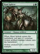 4x MTG: Maul Splicer - Green Common - New Phyrexia - NPH - Magic Card