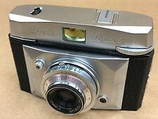 Ferrania Lince 2 Vintage Camera w/ 45mm Steinheil Cassar Lens Made in Italy-Rare