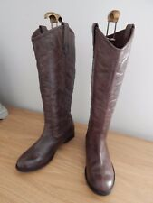 REDTAPE BROWN LEATHER BOOTS 7/40 VGC