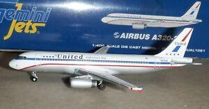 Gemini jets 1:400 United Airlines A320 Friendship livery #N475UA - GJUAL1061