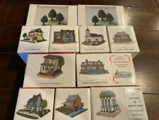 Liberty Falls/The Americana Collection Pieces + Original Boxes 2000 Lot of 11