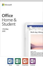 Microsoft Office Home and Student 2019 One Device PC Windows10 or Mac 79G-05186