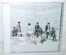 J-POP Hey! Say! JUMP DEAR 2016 Taiwan Ltd 2-CD+36P (Ver.B)
