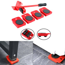 5Pcs Furniture Lifter Easy to Move Slider Mobile Tool Set Moving & lifting Tools