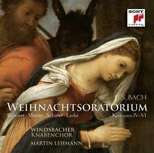 WINDSBACHER KNABENCHOR - WEIHNACHTSORATORIUM 4-6  CD NEW+ BACH,JOHANN SEBASTIAN