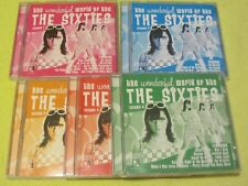 The Wonderful World of the Sixties Volume 1 2 3 4 & 5, Five CD Album Lot Collect