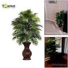 Artificial Areca Palm Realistic Tree Fake Decor Garden Silk Plant Potted Indoor