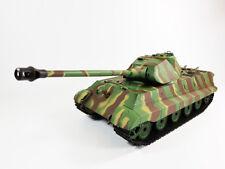 Tigre rey 1/16 heng long tanque Panzer militar Porsche Torreta BB Tiro 2.4G