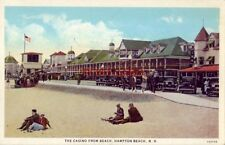 THE CASINO FROM THE BEACH, HAMPTON BEACH, N.H.