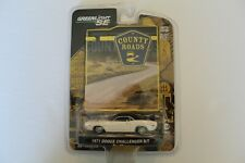 Greenlight Country Roads 1971 Dodge Challenger R/T White BP