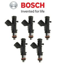 Fits Volvo C30 S60 V50 XC60 L5 Set of 5 Fuel Injectors OEM Bosch 0-280-158-315