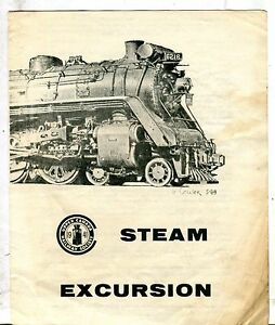 Upper Canada Railway Society Steam Excursion Schedule 1970 062717jh