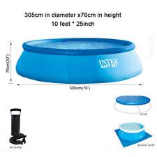 Intex 28120EH 10ft X 30in Inflable Piscina Easy Set Kit de juego de Agua Jardín De Verano