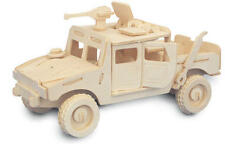 Jeep 4x4 3D Wooden Modelling Kit Model Jigsaw Puzzle