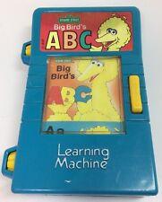Vintage Sesame Street Big Bird TYCO ABC Learning Machine Reel
