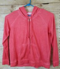 Maurices Womens Plus size 1X Salmon Colored Jacket Zip Up Jacket