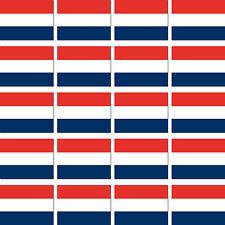 20 Stück Niederlande Holland Fahne Flagge Mini RC Modellbau Aufkleber Sticker