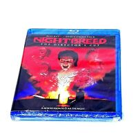 Nightbreed: The Director's Cut  Anne Bobby and Clive Barker Blu-ray discs :2 NEW