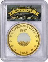 2018 S.S. Central America Gold Pinch - Shipwreck Gold - Lost Treasure