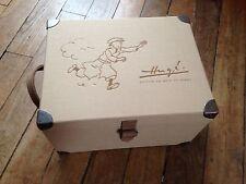 coffret du centenaire Hergé numéroté avec 14 mini albums