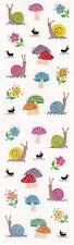 Mrs. Grossman's Stickers - Reflections Snails & Mushrooms - Ants - 3 Strips