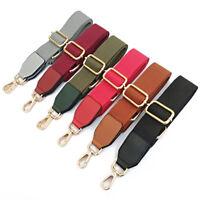 Wide Shoulder Bag Belt Strap Crossbody Adjustable Replacement Handbag Handle Bs