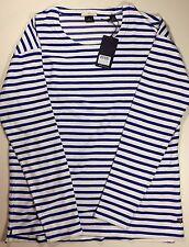 SCOTCH & SODA Men's Sweatshirts NWT White Dark Blue orMSWSH0013 -363
