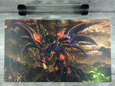 YuGiOh Red-Eyes Darkness Dragon Duel Battlefield Custom TCG Playmat Free Tube