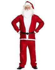 Adulti Babbo Natale Babbo Natale Costume Vestito da Uomo santacon Natale Fancy Dress