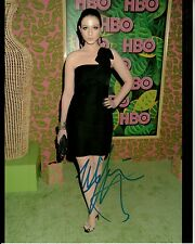MICHELLE TRACHTENBERG hand-signed SEXY 2010 EVENT 8x10 CLOSEUP authentic w/ COA