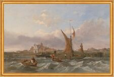 Tilbury Fort-Wind Against the Tide Clarkson Stanfield Festung England B A1 01187