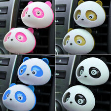 4Pc Auto Dashboard Air Freshener blink Lovely Panda Perfume Diffuser for Car WKC