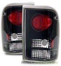 For 93-97 Ford Ranger Black Altezza Tail Lights Brake Lamps