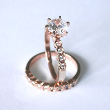 Solitaire Rose Gold Diamond Engagement Rings