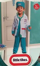 Little Tikes Doctor Costume Toddler Dress Up Pretend Play Christmas Gift New