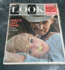Look Magazine Monroe/ Gable 1/31/1961