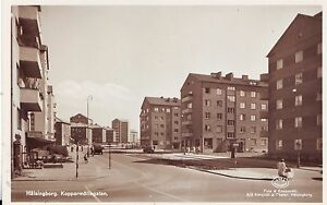 Sweden Halsingborg Hälsingborg Helsingborg - Kopparmollegatan old sepia postcard