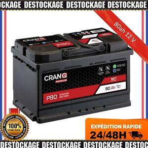 Batterie de Voiture 80ah 12 V batterie de démarrage Bleiakku remplace 72ah 74ah