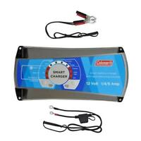 Coleman 12V 1/4/6 Amp Smart Battery Charger With Reconditioning Function 60134
