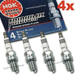 4 Genuine NGK Iridium IX Spark Plug Set BPR6EIX-11 Power & Mileage JAPAN Gapped