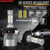 CSP H4 HB2 9003 1080W 162000LM LED Headlight Kit Hi/Lo Power Bulbs 6000K